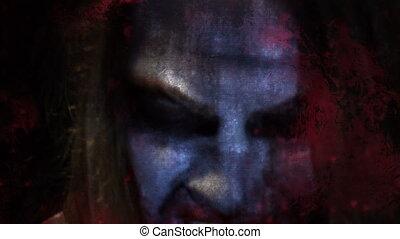 zombie, horror, effekte