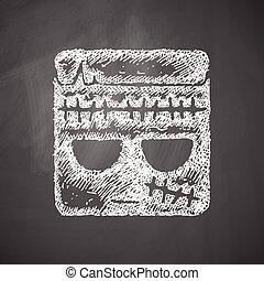 zombie, ikona