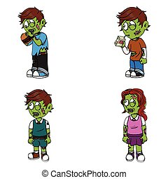 zombie illustration design