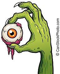 zombie, mano