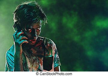 zombie phone talk