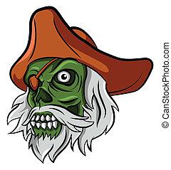 zombie, pirata