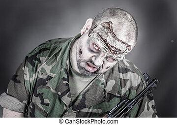 zombie, soldado