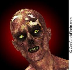 zombie, spleśniały