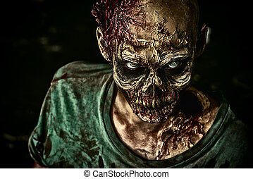 Zombie,  toothy