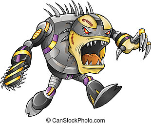 Zombie Undead Warrior Soldier Vector