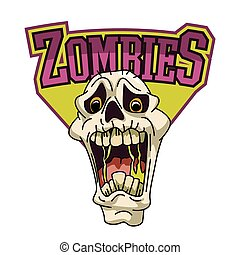 zombies illustration design