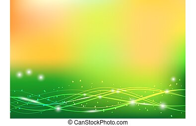 zomer, abstract, vector, achtergrond