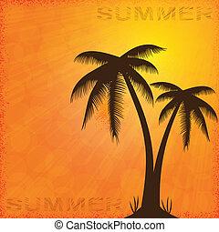 zomer, achtergrond.