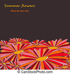 zomer, bloemen