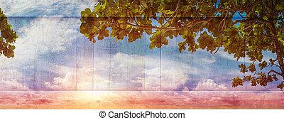 zomer, hemel