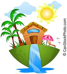 zomer huis