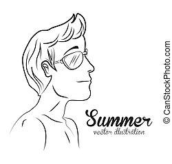 zomer, ontwerp