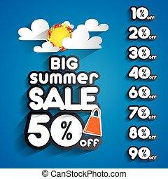 zomer, verkoop