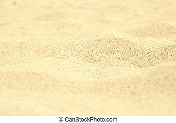 zomer, zand strand, achtergrond
