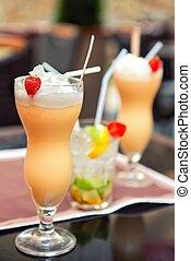 zomerfruit, drank