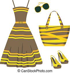 zomerkleding, set