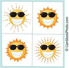 zon 4, verzameling, pictogram