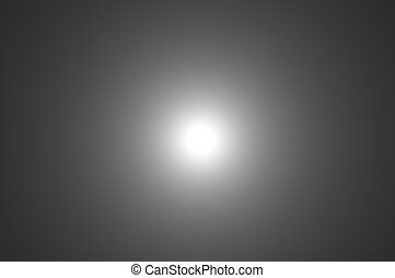 zon, abstract, maan, zwarte achtergrond, witte , of