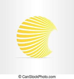 zon, energie, zonne, pictogram