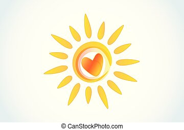 zon, hart