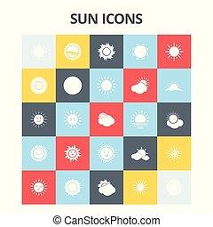 zon, iconen