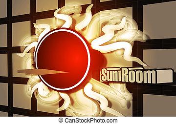 zon, kamer