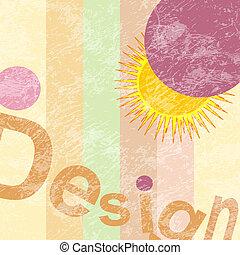 zon, ontwerp