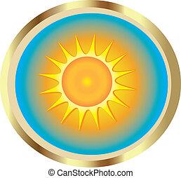 zon, pictogram