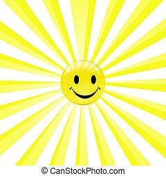zon, smiley