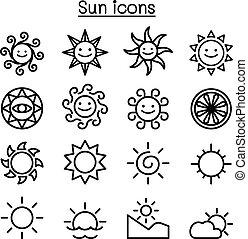 zon stel, iconen