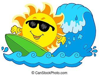 zon, surfing