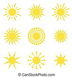 zon, verzameling