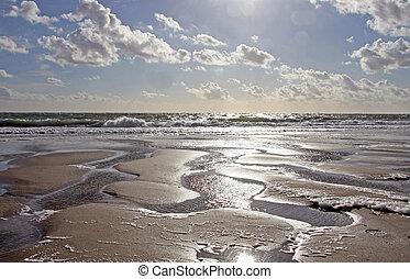 zon, zand zee