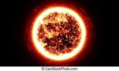 zon, zoom, ruimte
