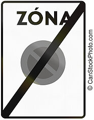 zona, utilizado, italia, zona, medios, -, zone., señal, fin,...