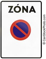 zona, utilizado, zona, no, medios, -, zone., señal,...