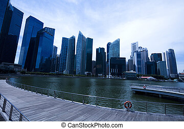 zone affaires, singapour