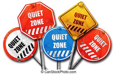 zone, meldingsbord, stille , vertolking, meldingsbord, ...