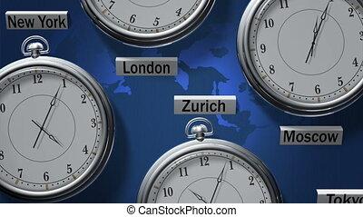 zones, temps