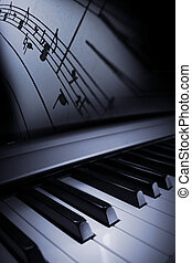 zongora, finomság