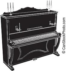 zongora, klasszikus