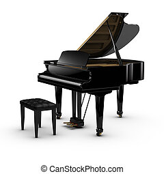 zongora, nagy
