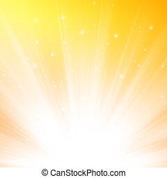 zonlicht, achtergrond