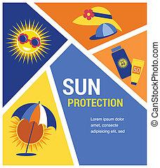 zonnebaden bescherming