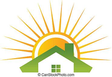 zonnebaden dak
