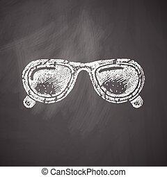 zonnebrillen, pictogram