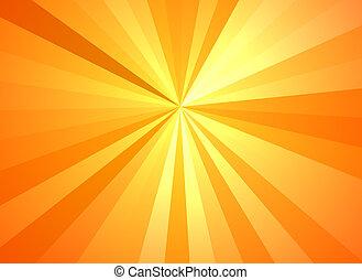 zonneschijn, textuur, backgrounds., zonnestraal, model