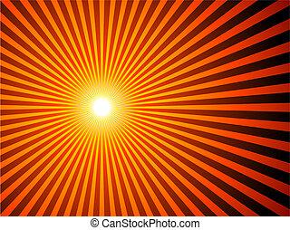 zonnestraal, achtergrond