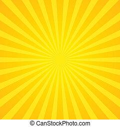 zonnestralen, achtergrond